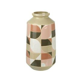 image-Windell Table Vase Bloomsbury Market Size: 30cm H x 16cm W x 16cm D
