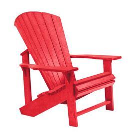 image-Lomba Lounge Chair Dakota Fields Frame Finish: Red