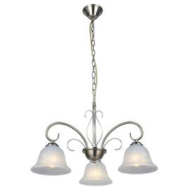 image-Korbin 3-Light Shaded Chandelier Marlow Home Co.