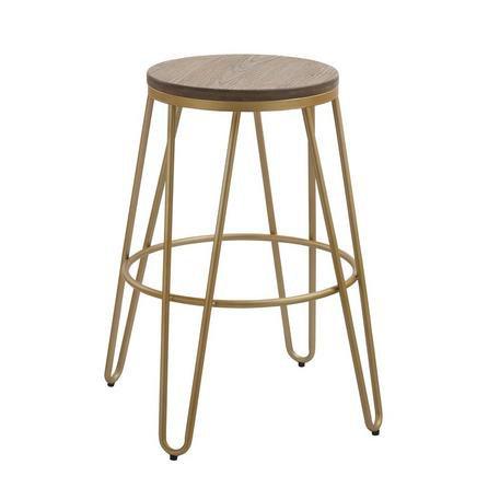 image-Portland Bar Stool Gold