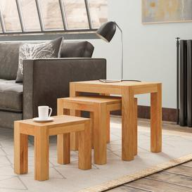 image-Sydney 3 Piece Nest of Tables Natur Pur