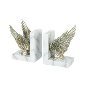 image-Wings Bookends Ophelia & Co. Colour: Silver