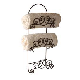image-Dysart Free Standing Towel Rack Brambly Cottage