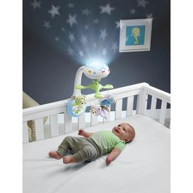 image-Fisher-Price Butterfly Dreams 3-in-1 Projection Mobile