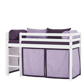image-Basic Beautiful Bloom Mid Sleeper Bed with Curtain Hoppekids Bed surface area: 70cm x 160cm