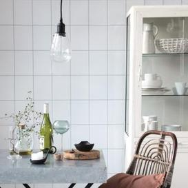 image-Oval Glass Pendant Light
