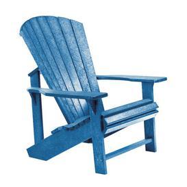 image-Lomba Lounge Chair Dakota Fields Frame Finish: Blue