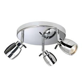 image-Firstlight 9503CH Marine Chrome 3 Light Bathroom Ceiling Spotlight