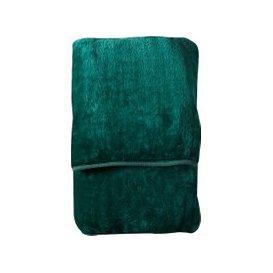 image-Snuggles Fleece Throw in Green
