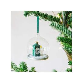 image-Gin and Tonic Snow Globe Bauble