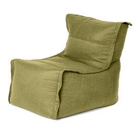 image-Zip Together Modular Bean Bag Lounger Ebern Designs Upholstery Colour: Olive