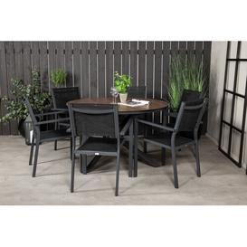 image-Drishya 6 Seater Dining Set Sol 72 Outdoor