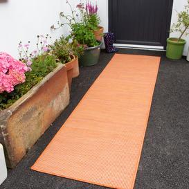 image-Terracotta Mottled Indoor  Outdoor Runner Rug - Patio