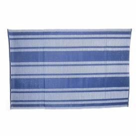 image-Vanesa Kitchen Mat Longshore Tides Colour: Blue