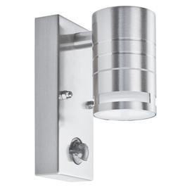 image-Searchlight 1318-1-LED One Light LED Outdoor Wall Light With Motion Sensor In Stainless Steel