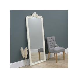 image-Isabelle Leaner Mirror - White