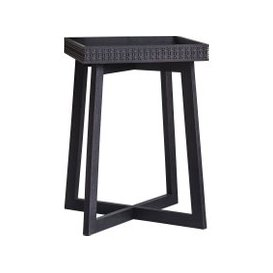 image-Sadie Side Table in Charcoal