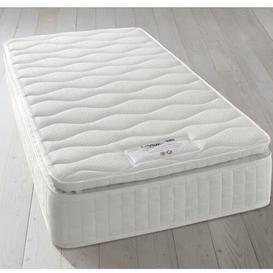 image-Layezee 800 Pocket Pillow Top Memory Mattress Silentnight Size: Double (4'6)