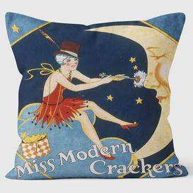image-Miss Modern Christmas Crackers Cushion We Love Cushions