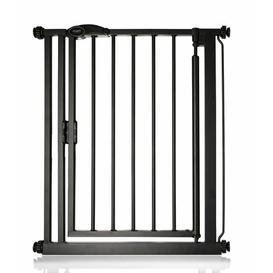 image-Imogen Safety Gate Symple Stuff Colour: Black, Size: 111cm - 118cm