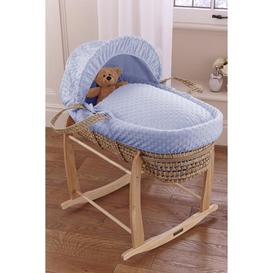 image-Clair de Lune Dimple Palm Moses Basket