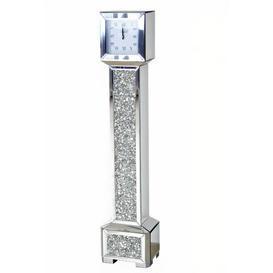 image-Crushed Glass 189cm Grandfather Clock Mercer41