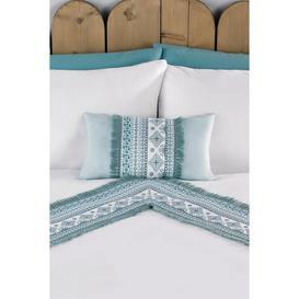 image-Tribal Tassel Filled Boudoir Cushion