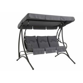 image-Rio Swing Seat with Stand Freeport Park Colour: Grey