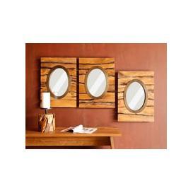 image-Saxon Oval Mirror