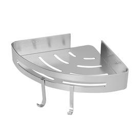 image-Adhesive Corner Shower Caddy - M&w 1 Tier