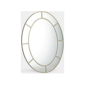 image-Large Oval Mirror