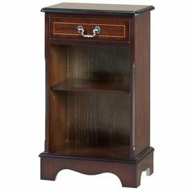 image-Huron 76cm Standard Bookcase Astoria Grand Finish: Yew