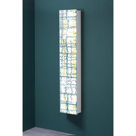 image-Multitalent 30 Motif 135 Abstract Art 4 Pair Shoe Storage Cabinet Ebern Designs