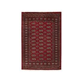 image-Gooch Luxury Hand Knotted Pakistan Bokhara Handmade Rug, Red