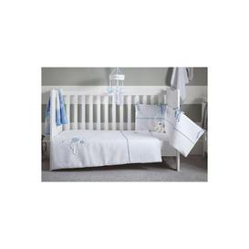 image-Over The Moon Cot Bed Quilt and Bumper Bedding Set