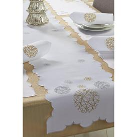 image-14-Piece Gold Bauble Christmas Table Set