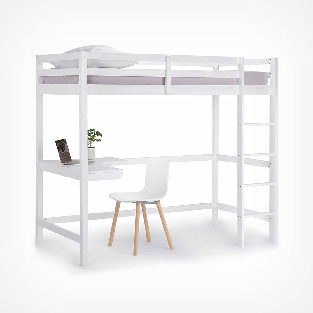 image-Pine Study Bunk Bed
