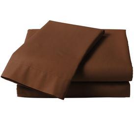 image-Polycotton Base Valance Symple Stuff Size: Single (3'), Colour: Chocolate