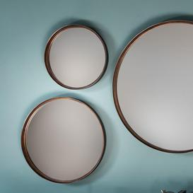 image-Gallery Direct Reading Mirror / Brown / Large
