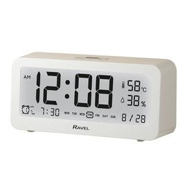 image-Devon Digital Electric Alarm Tabletop Clock Ravel