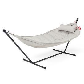 image-Headdemock Superbe Hammock - / Olefin fabric - With cushion by Fatboy White/Beige