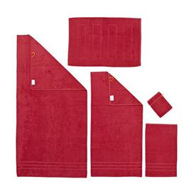 image-Faucher 5 Piece Complete Towel Set Ebern Designs Colour: Deep red