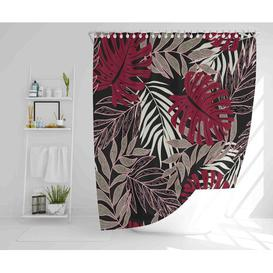 image-Kamdyn Polyester Shower Curtain Set Bay Isle Home Size: 177cm H x 210cm W
