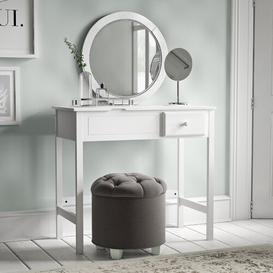 image-Farris Dressing Table with Mirror Brambly Cottage