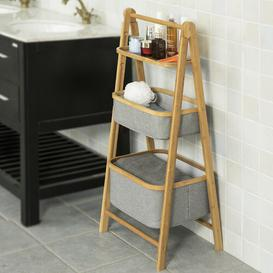 image-Jesse 45 x 98cm Bathroom Shelf Brambly Cottage