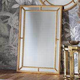image-Gallery Direct Sinatra Gold Rectangular Mirror - 121cm x 80cm