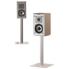 image-Mini 2x Speaker Stand Symple Stuff Colour: Clear