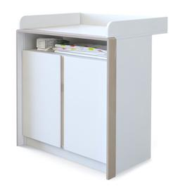 image-Nandini Changing Unit Vladon Colour: Sand grey (glossy)