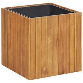 image-Emely Wooden Planter Box Freeport Park Size: 44cm H x 43.5cm W x 43.5cm D