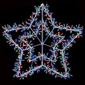 image-480 LED Multicolour Outdoor Starburst Star Christmas Decoration